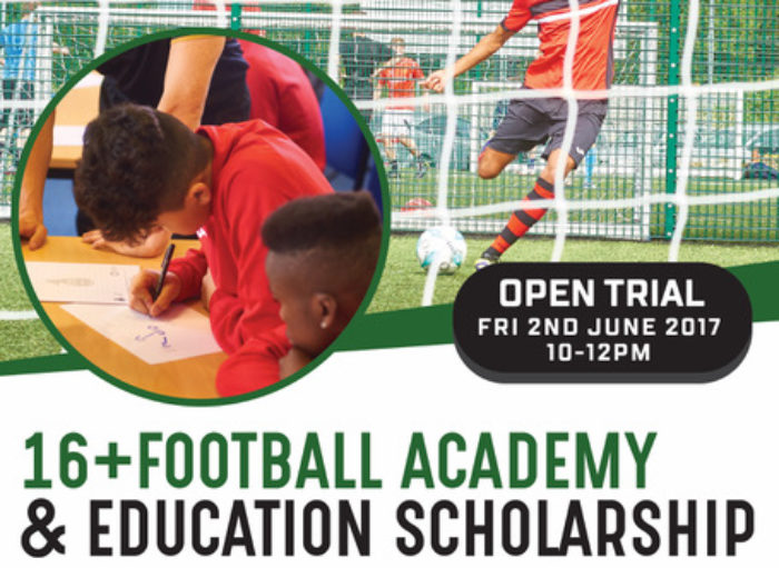 16+ Academy Trial – New Oakham Date