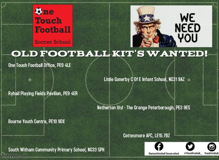 Old Football Kits Wanted!
