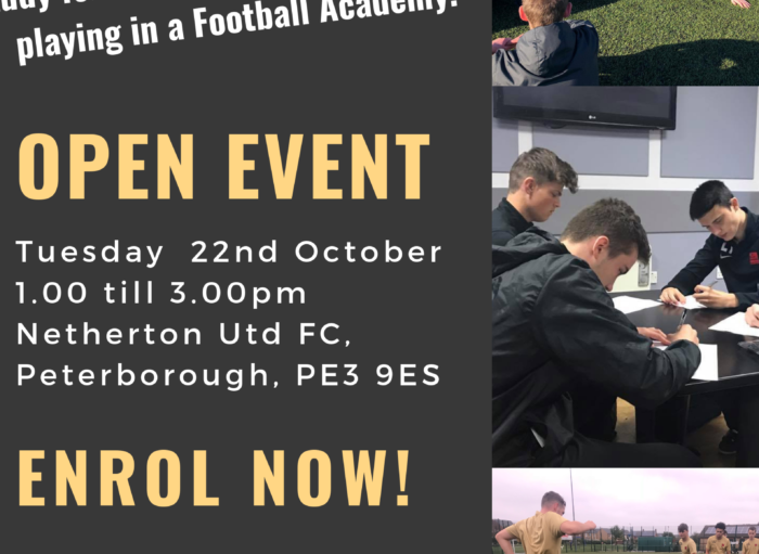 16+ Academy Trial – Peterborough