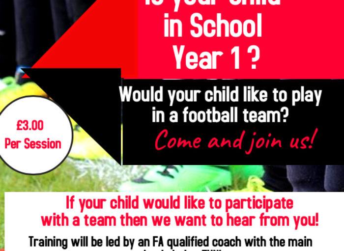 Year One Football Club – Announced!