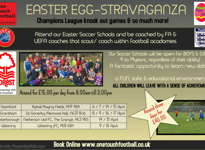 Easter Soccer Schools
