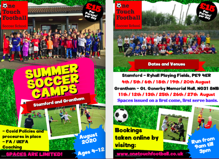 Summer Soccer School Announced