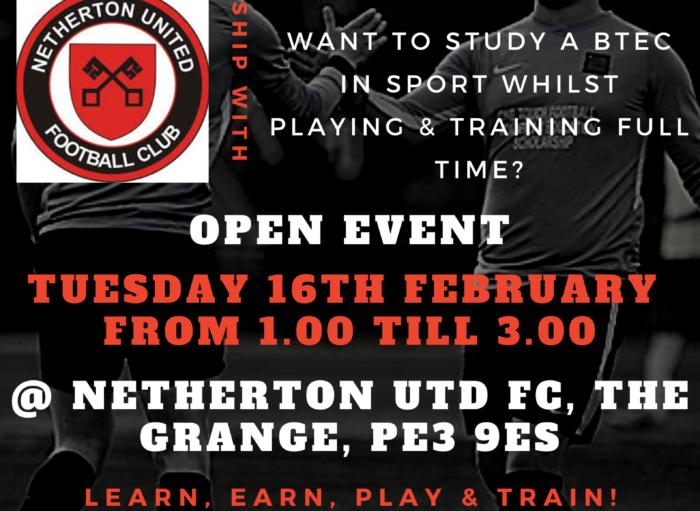February Open Event @ Netherton Utd FC