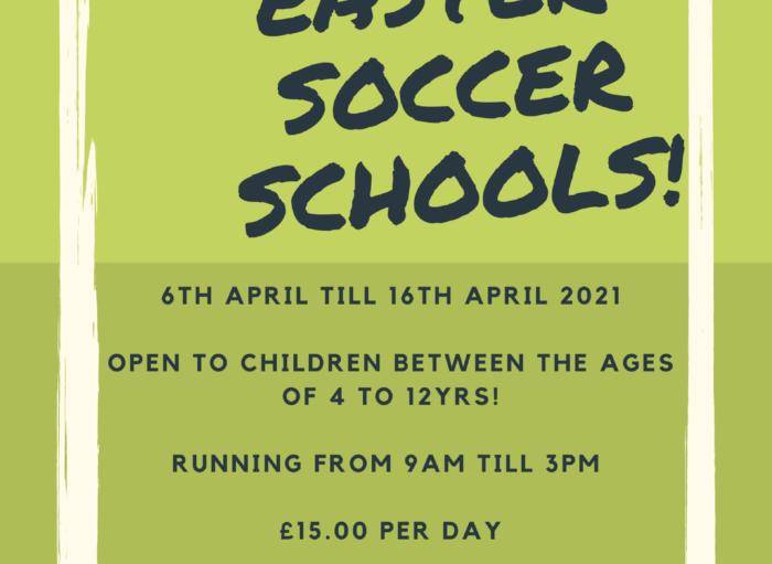 Easter Soccer Schools – Go Ahead!!!